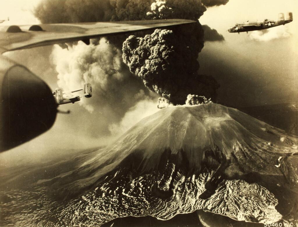 Erupcja w1944 roku.