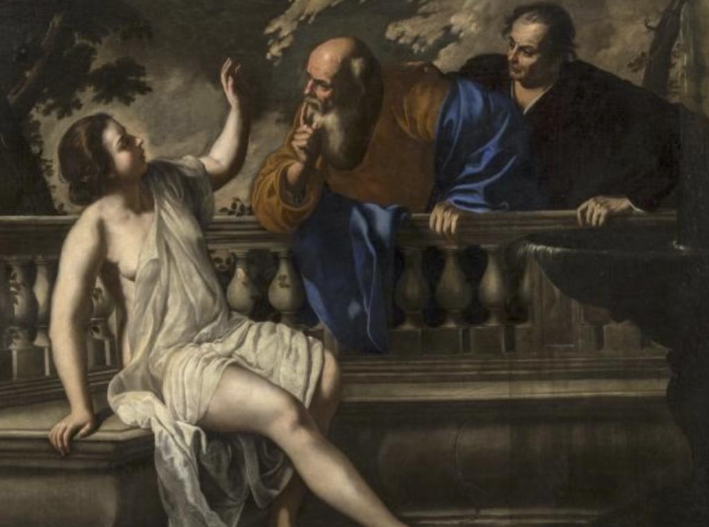 Artemisia Gentileschi, Onofrio Palumbo, Susanna ei vecchioni, 1652 Bologna, Collezioni della Pinacoteca Nazionale, Polo Museale dell'Emilia Romagna