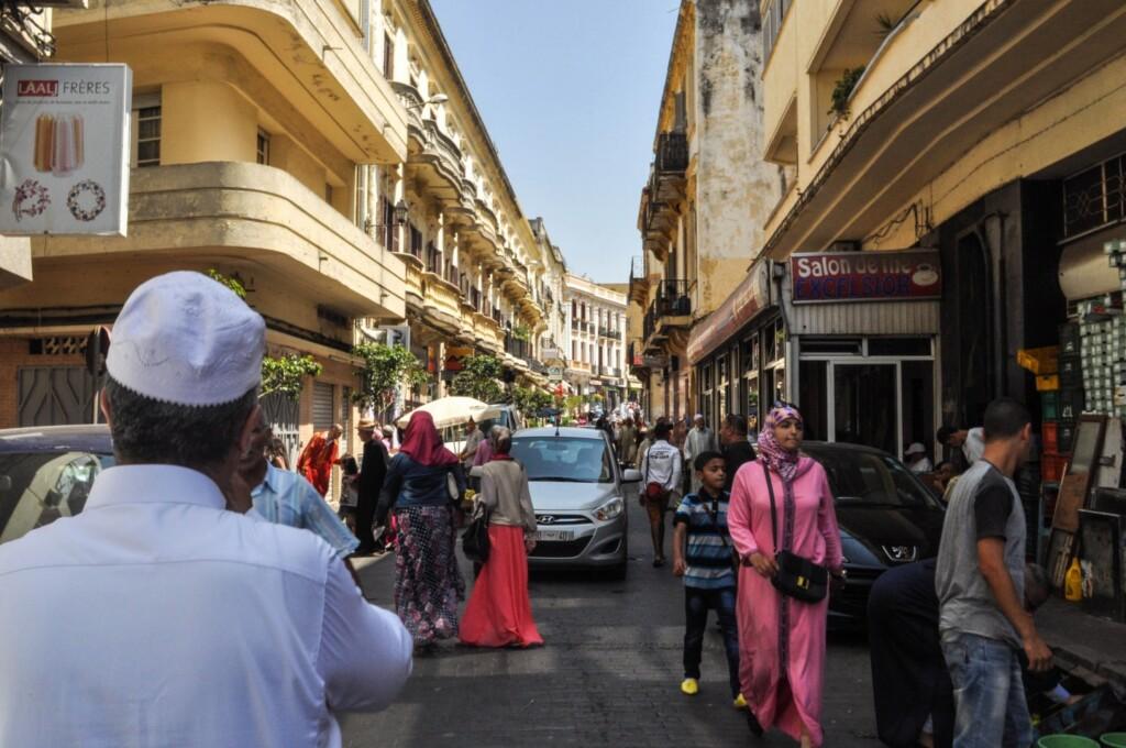Tanger miał stać się centrum turystyki zakupów. Fot. katiebordner / Flickr