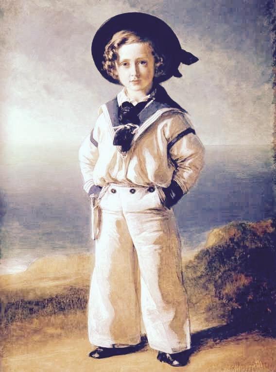 Książę Albert, późniejszy Edward VII, na obrazie Winterhaltera.
