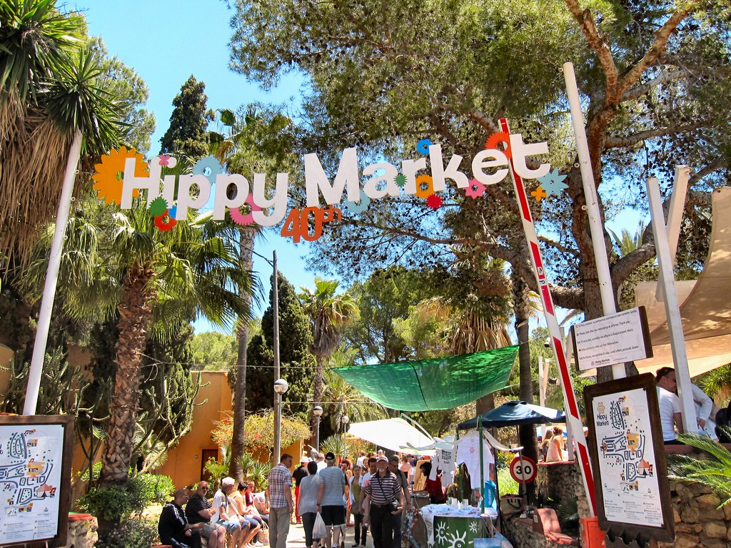 Hippie Market na Ibizie, fot. Ronald Saunders / Flickr