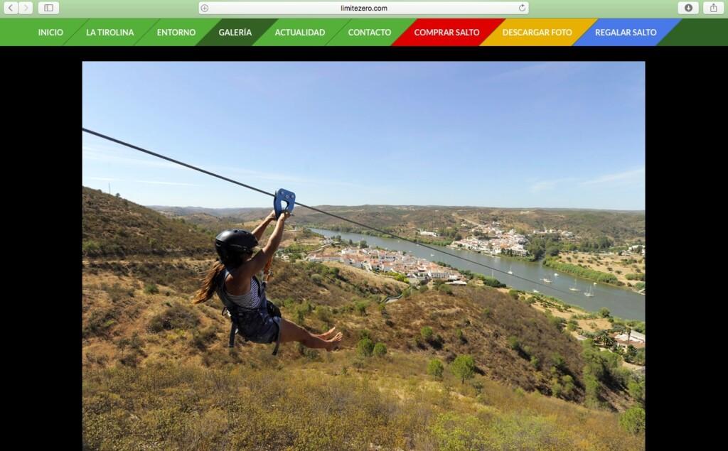 Zrzut ekranu ze strony www.limitezero.com.