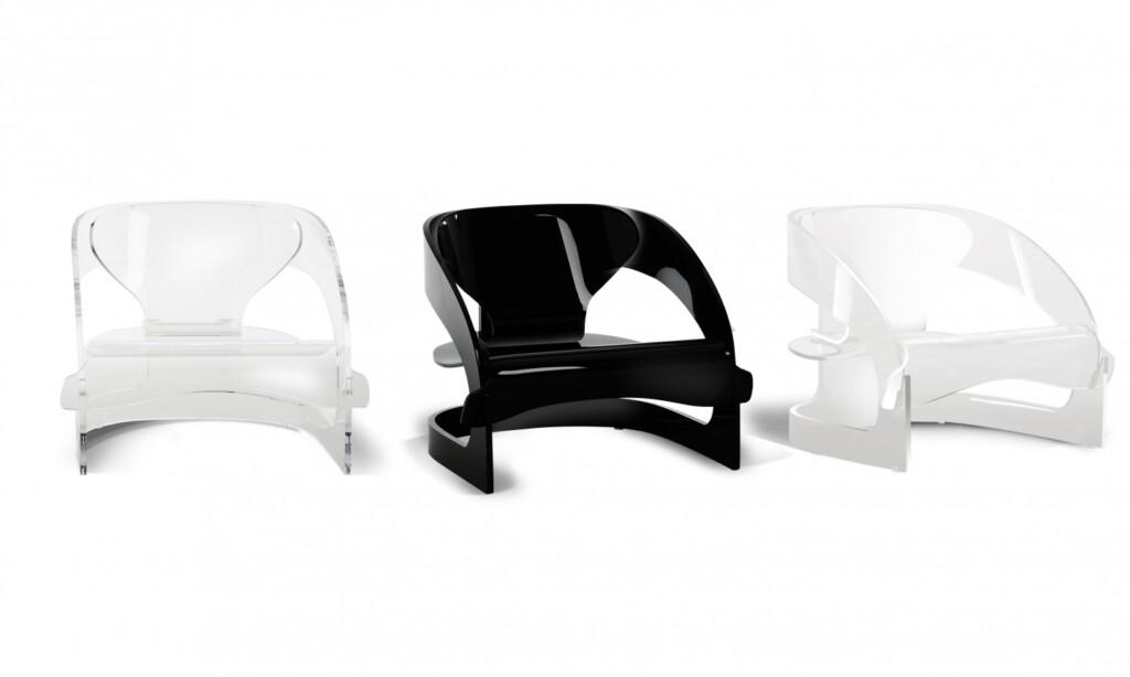 Krzesła Joe Colombo. Fot. Kartell – materiały prasowe