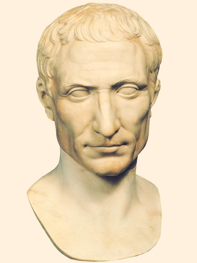 Portret Cezara ze zbiorów Muzeów Watykańskich