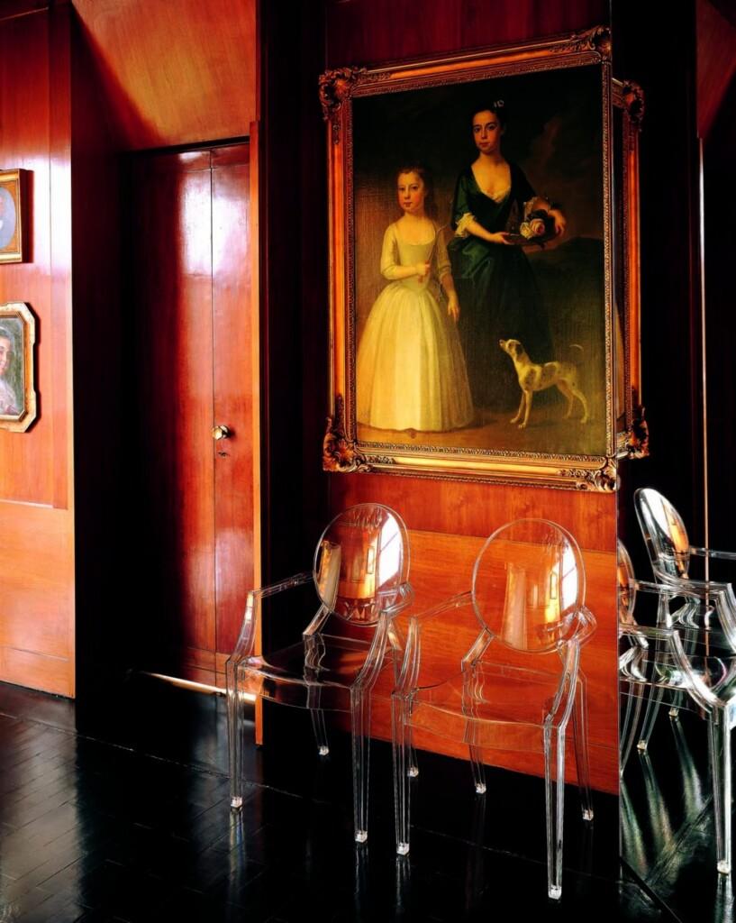 Krzesła Louis Ghost. Fot. Kartell – materiały prasowe