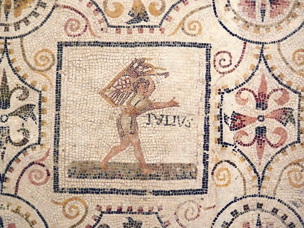 Rzymska mozaika przedstawiająca lipiec wEl Djem wTunezji (III w.n.e.). Fot. Ad Meskens / Wikipedia Commons