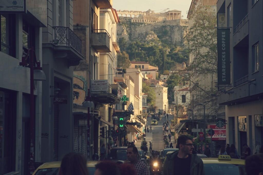 Ateńska ulica. Fot. Ignacy Heringa