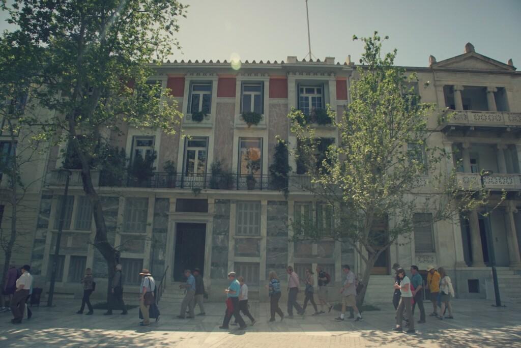 Okolice Muzeum Akropolu. Fot. Ignacy Heringa
