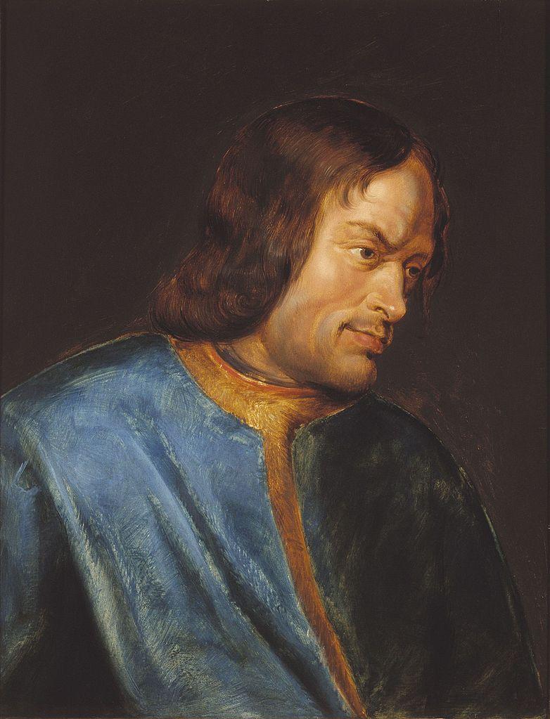 Portret Wawrzyńca Wspaniałego pędzla Petera Paula Rubensa (1612–1616)
