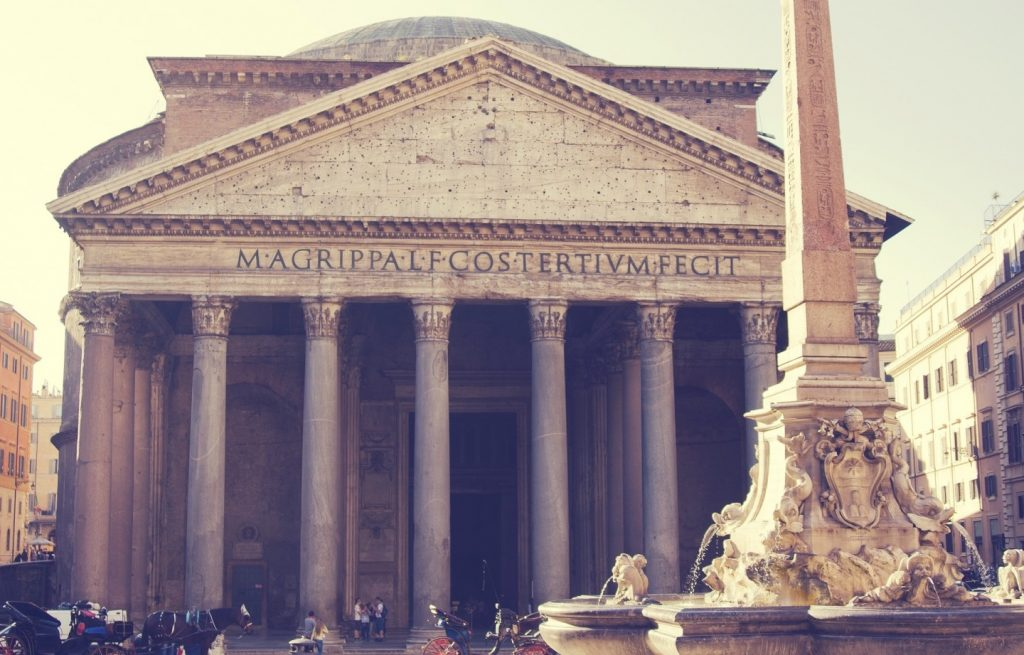Okolica Panteonu to mekka dla lubiących lody.