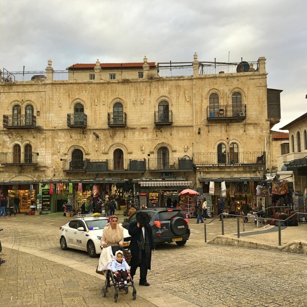 W religijnej Jerozolimie tylko 22% par nie posiada potomstwa. Fot Julia Wollner