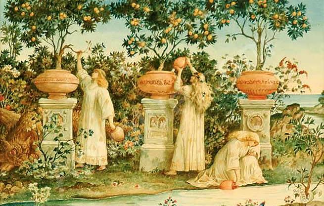 Riccardo Meacci, Ogród Hesperyd, 1894 r.