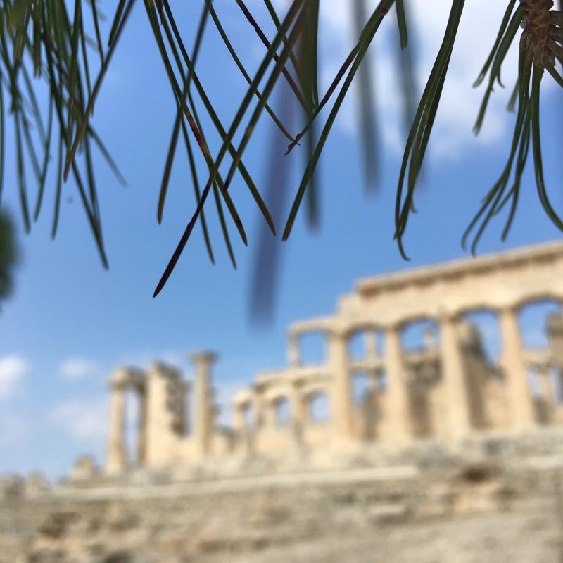 Najsłynniejszym zabytkiem na wyspie jest świątynia Afai.