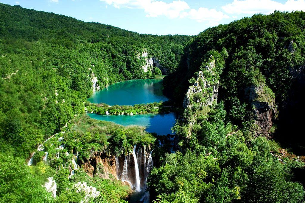 Jeziora Plitwickie, fot. Pablo BM / Wikipedia, CC BY 2.0