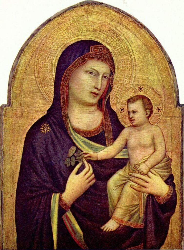 Madonna zDzieciątkiem pędzla Giotta