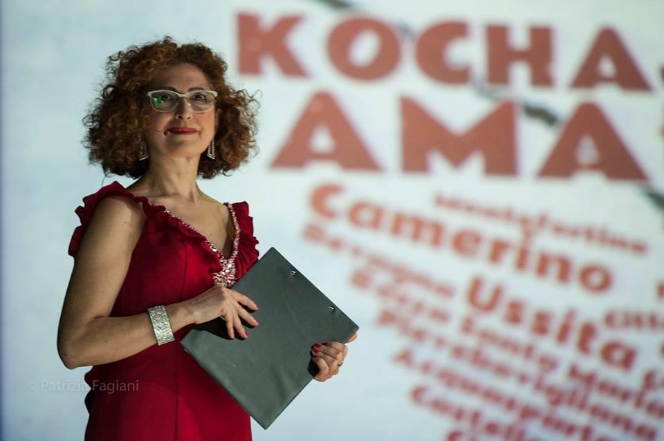 Angela Ottone podczas koncertu Kochaj Amatrice, fot. materiały prasowe