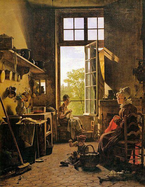 Dziewiętnastowieczny obraz Martina Drollinga namalowany przy użyciu barwnika uzyskiwanego zmumii