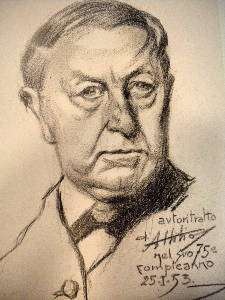 Autoportret A. Mussina