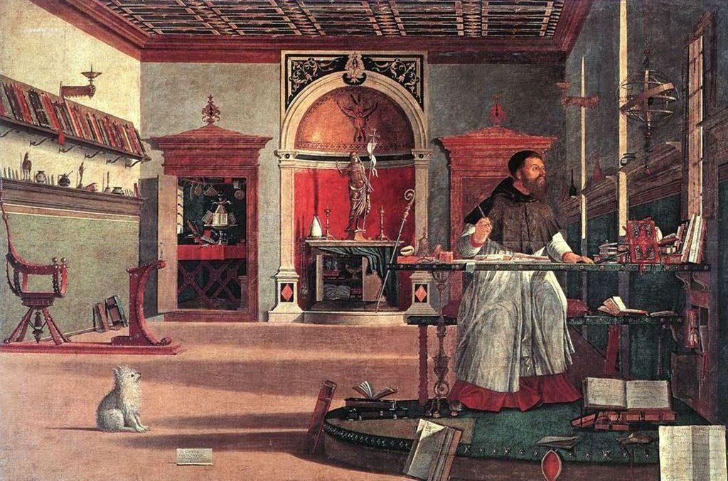Vittore Carpaccio, Wizja św. Augustyna, 1501–1503 r.