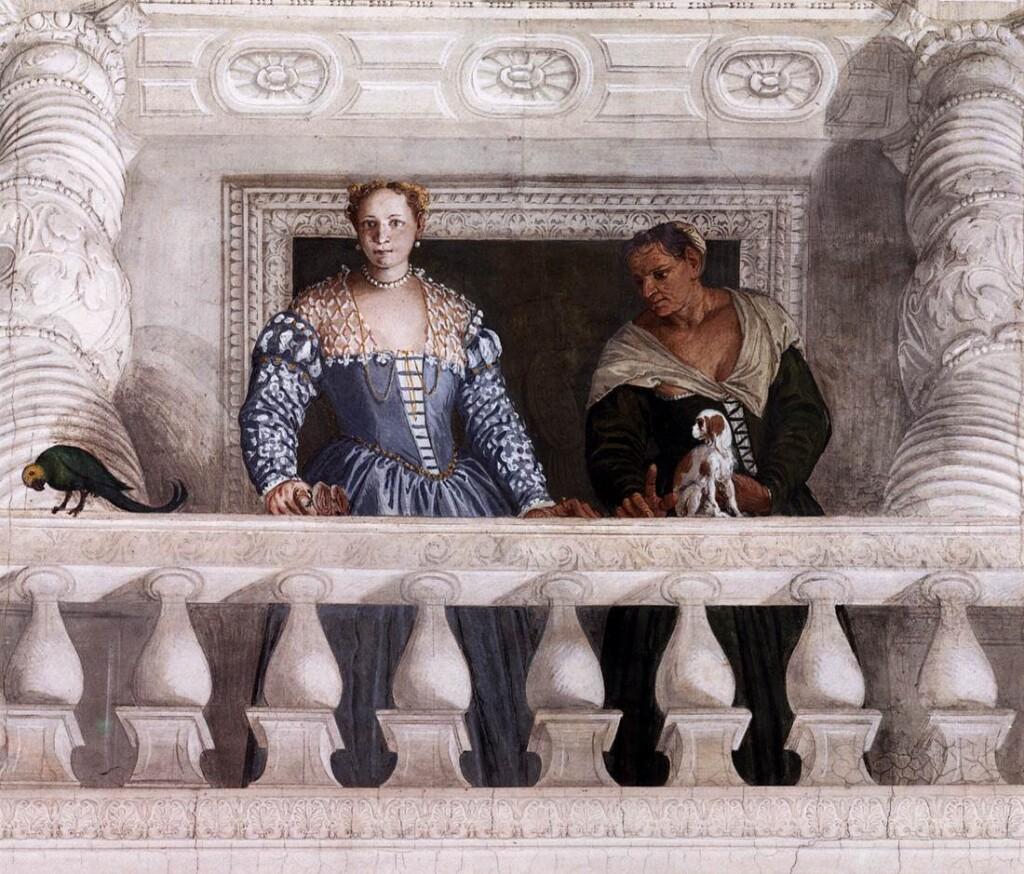 Freski Paola Veronese wVilla Barbaro, ok. 1560 r.