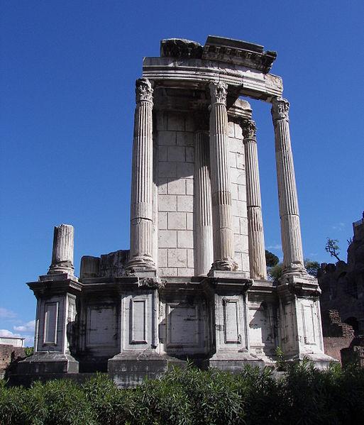 Świątynia Westy wRzymie, fot. Wknight94 / Wikimedia, GFDL