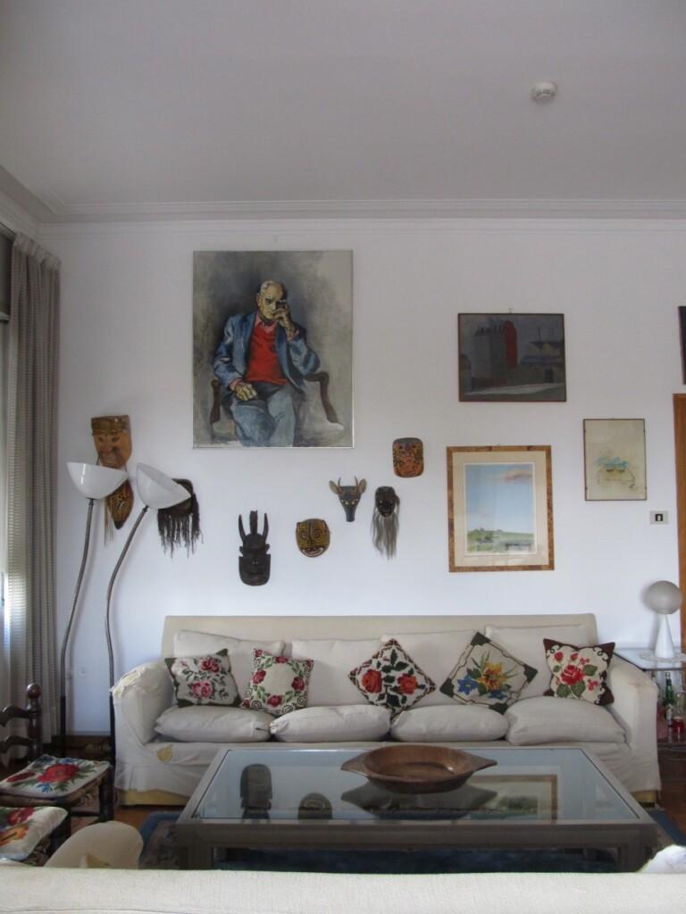 Wnętrza domu Moravii. Gromadził wnim wiele pamiątek zafrykańskich podróży. Fot. Ewa Nicewicz-Staszowska