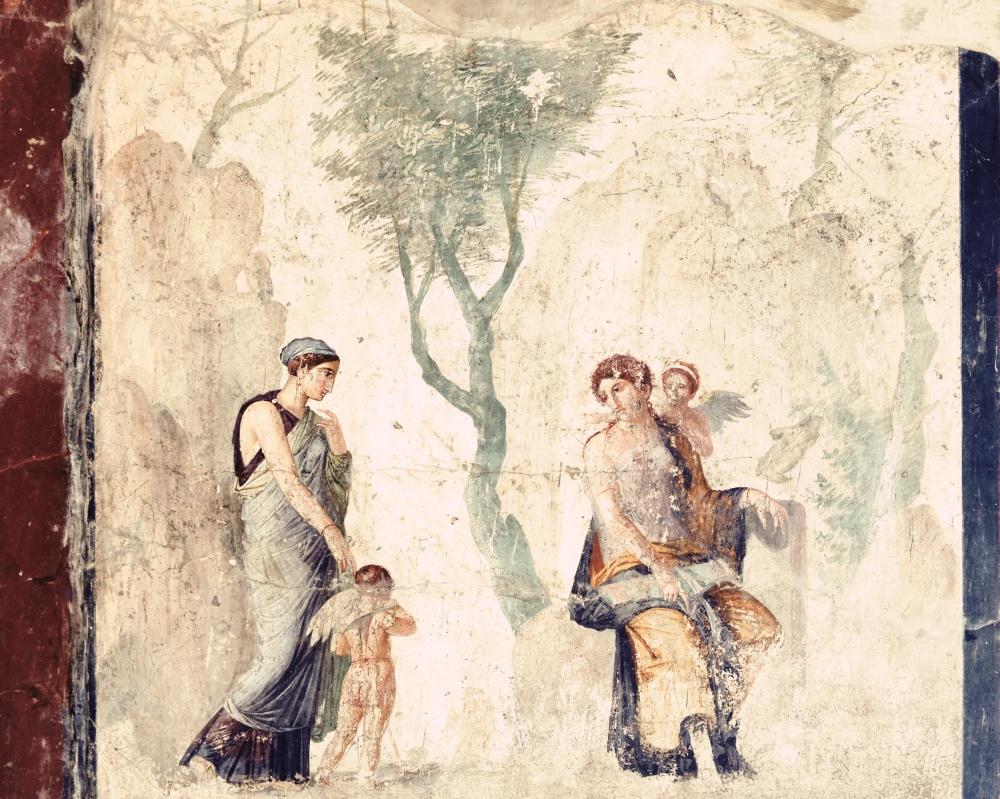 Erotes to skrzydlaci chłopcy zorszaku Afrodyty. Był wśród nich Hedylogos – bożek pochlebstwa, uważany także za bóstwo patronujące rozmowom między zakochanymi.