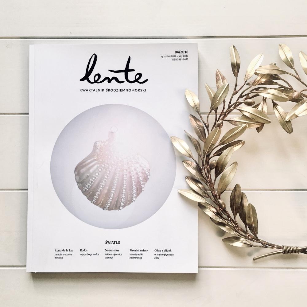 """Mamy nadzieję, że wroku 2018 uda nam się wreszcie opublikować papierowe wydanie """"Lente""""."""