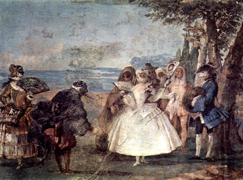 Giovanni Domenico Tiepolo, Karnawał