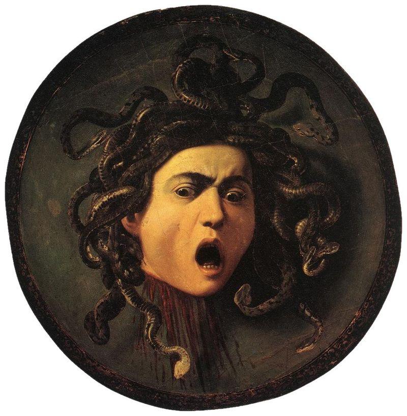 Meduza Caravaggia