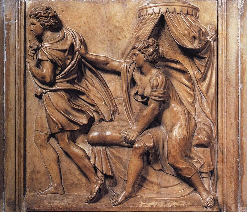 Józef iżona Putyfara – płaskorzeźba zok. 1520 r.