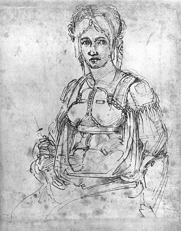 Autoportret Propercji, druga połowa XVI w.