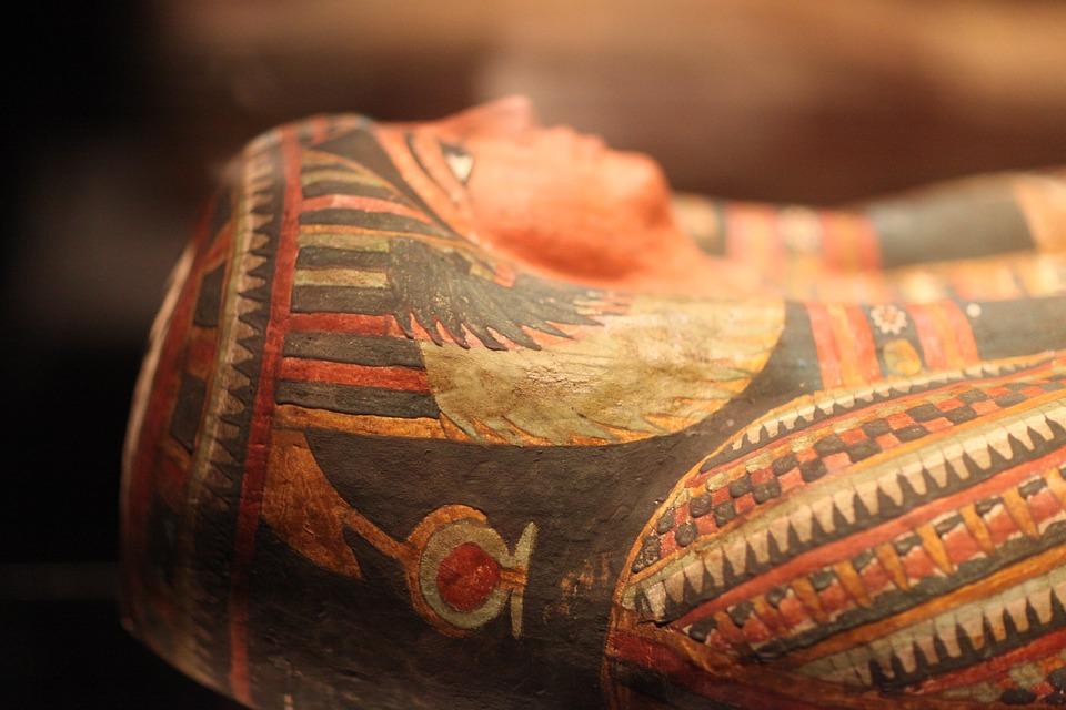 Egipcjanie stosowali sól wprocesie mumifikacji zwłok