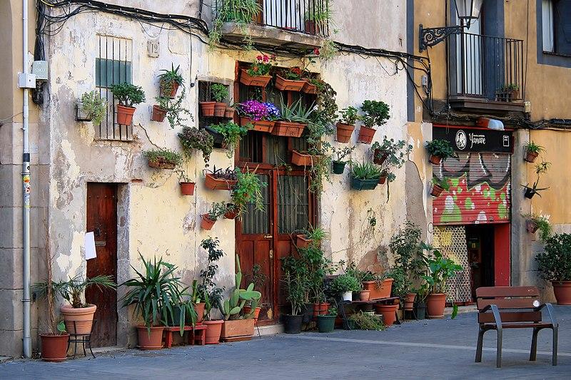 Carrer de l'Allada Vermell, fot. Jorge Franganillo / Wikimedia, CC BY 3.0