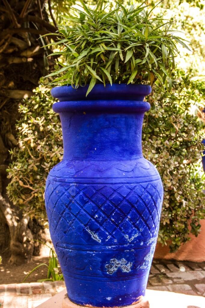 """Kobaltowy kolor """"Majorelle Blue"""", fot. Anka Florczak"""