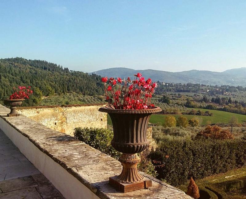 Villa di Maiano, fot. christian / Flickr, CC BY-SA 2.0