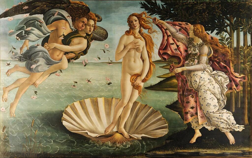 Najsłynniejsza Wenus pędzla Botticellego, Galeria Uffizi