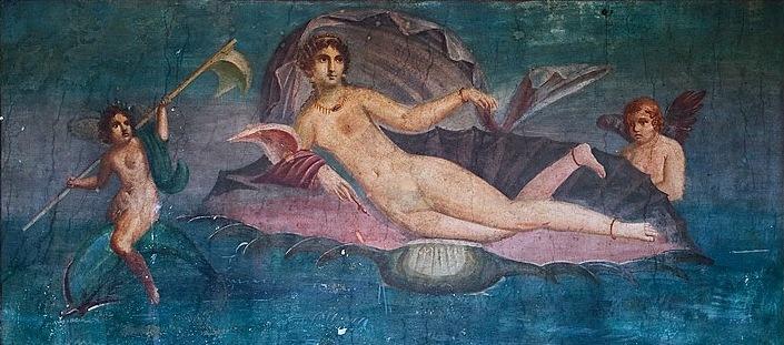 Wenus na fresku wPompejach