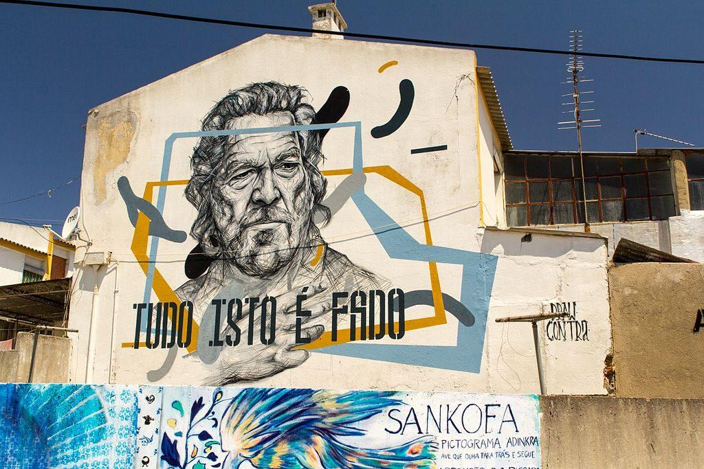 Street Art wLizbonie, fot. Oren Rozen / Wikimedia