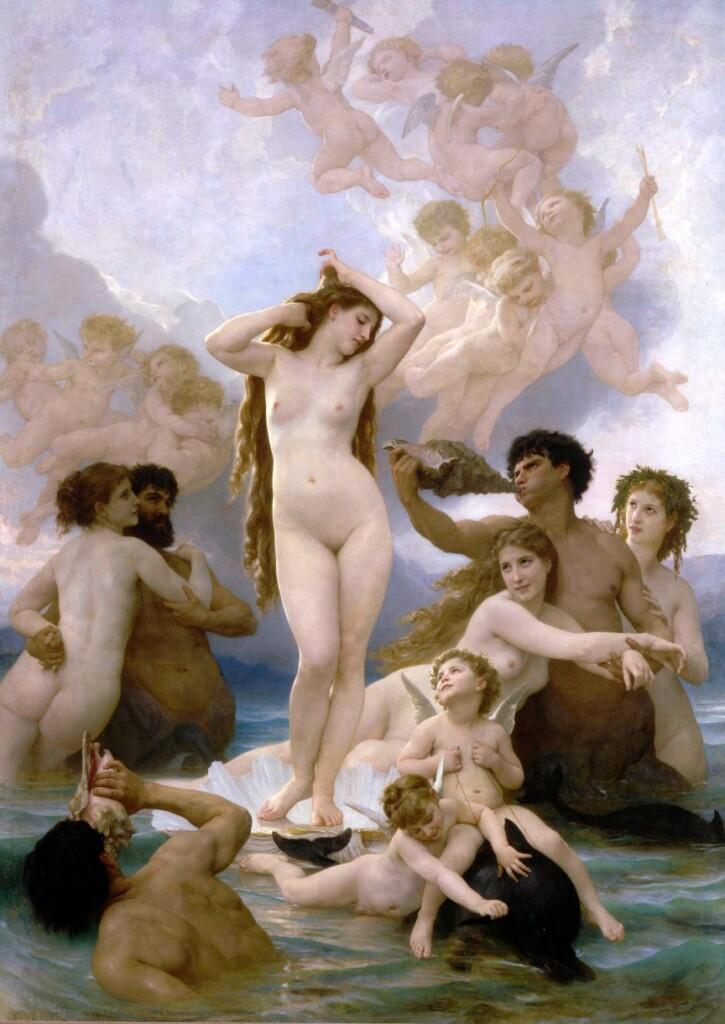 Obraz Williama-Adolpha Bouguereau, Muzeum Orsay
