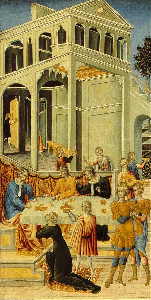 Giovanni di Paolo, ok., 1455, Art Institute of Chicago
