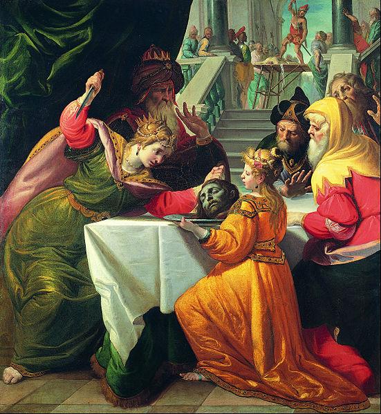Obraz pędzla Andrei Ansalda, ok. 1630