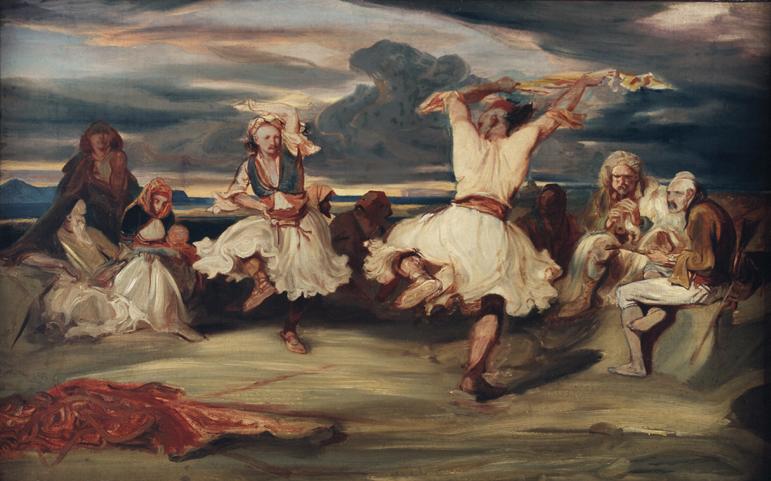Alexandre-Gabriel Decamps: Albanian Dancers, ca. 1835.
