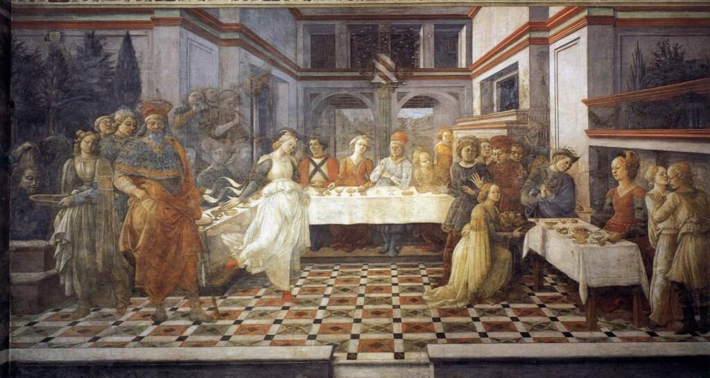 Filippo Lippi, 1460–1464, Capella Maggiore, Duomo, Prato