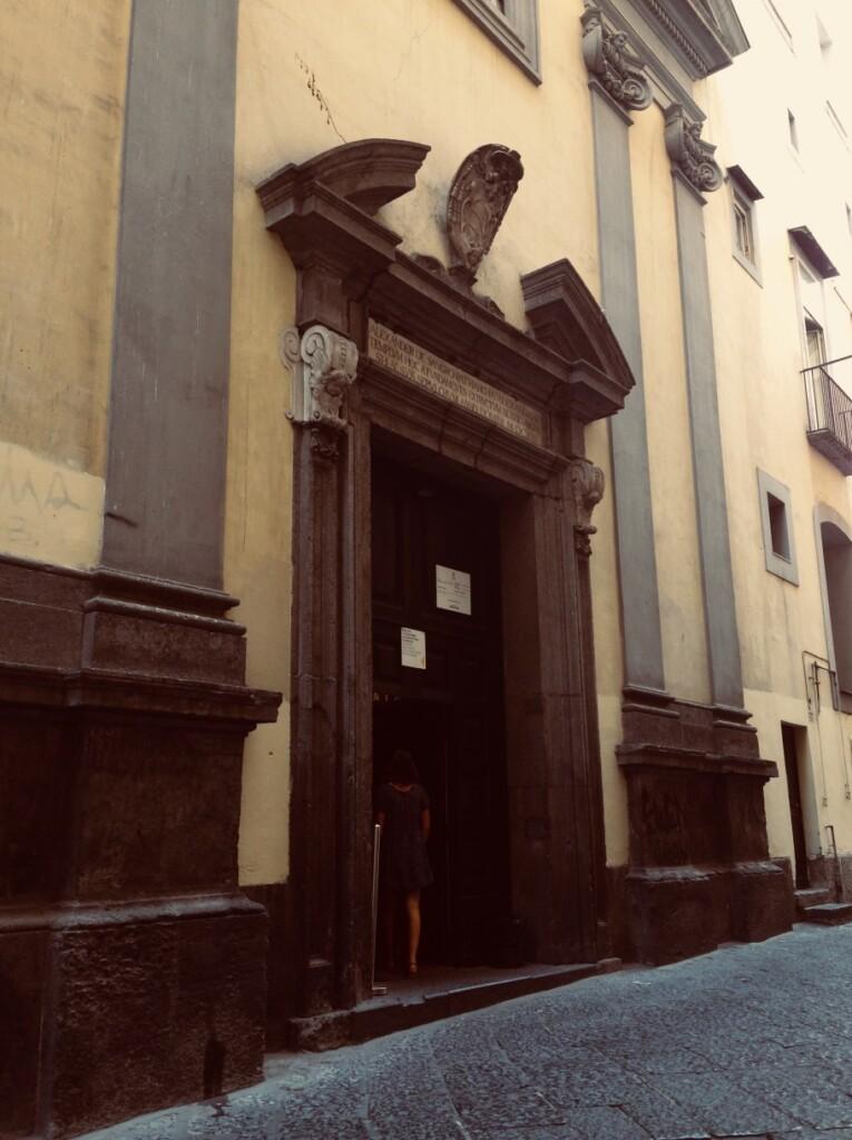 Wejście do Cappella Sansevero