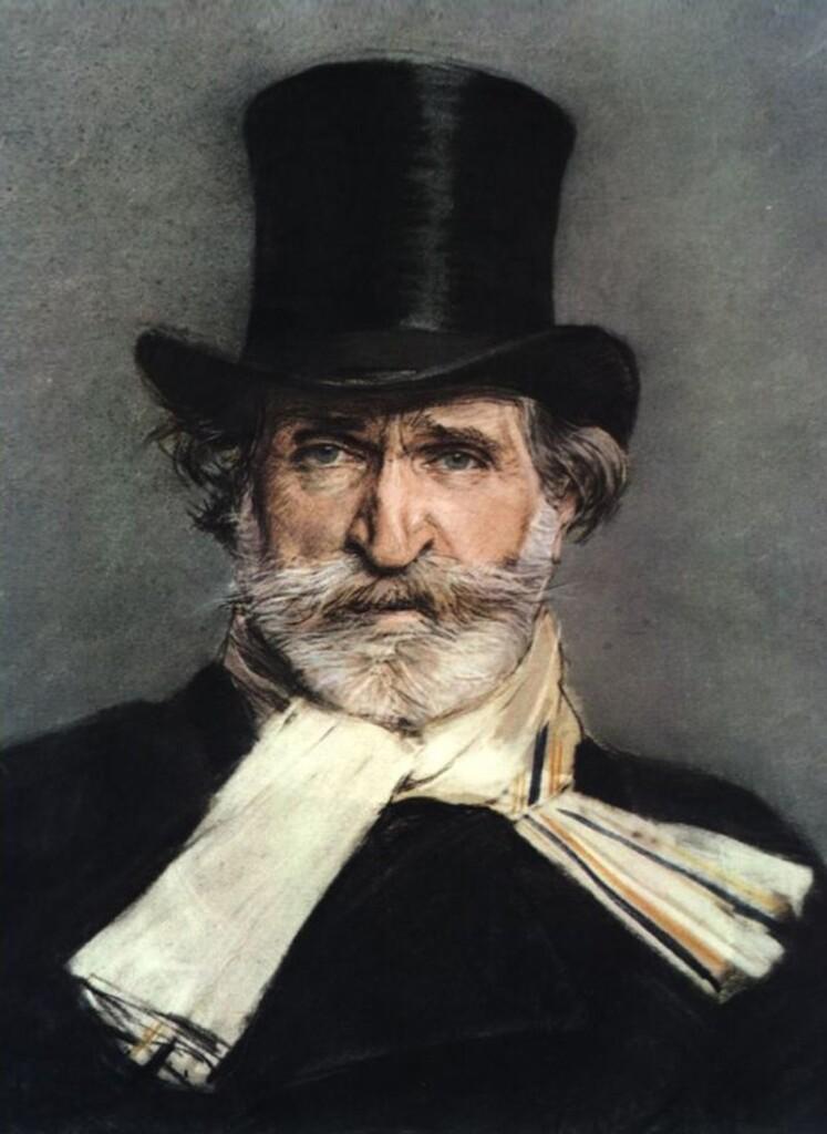 Giuseppe Verdi dipinto da Giovanni Boldini. (1886)