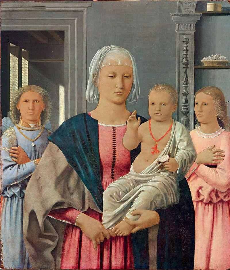 Madonna di Senigallia pędzla Piera della Francesca