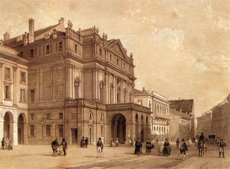 La Scala wXIX stuleciu