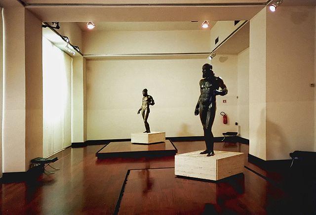 Brązy wmuzeum wReggio Calabria