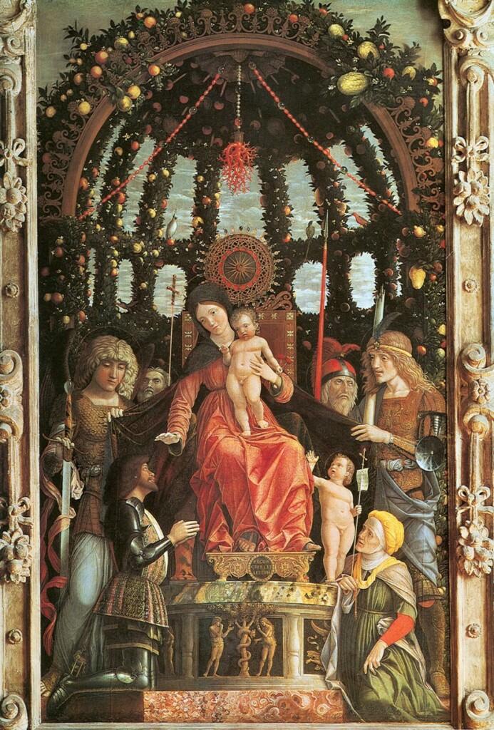 Madonna della Vittoria pędzla Andrei Mantegni